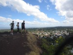 Kelsey took us up to a windy mirador overlooking the city of Managua.