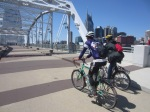 Exploring the city of Nashville on a sunny day (by bike, of course)